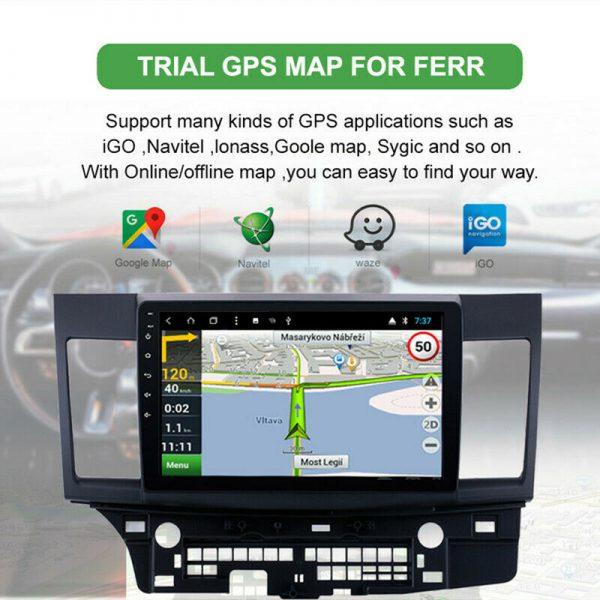 "10"" Android Multimedia Player For Mitsubishi lancer Radio GPS Navigation BT Wifi"
