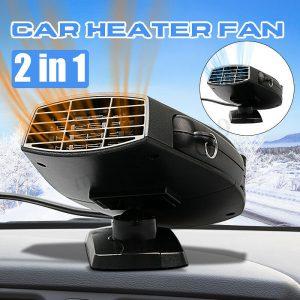 12v 150w 2 in1 汽车汽车加热器热冷却风扇挡风玻璃窗口除雾器- 显示原刊登标题