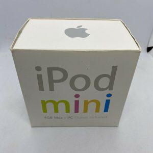 复古 iPod mini 银仅空盒 4gb 原装- 显示原刊登标题
