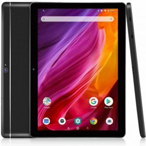 Dragon Touch 10.1 Inch Black Android Tablet 2GB RAM 16GB ROM Quad-Core Processor