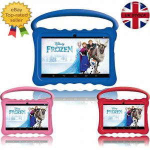 """DEMO 7"""" INCH BTC® FLAME KIDS HANDLE TABLET PC CHILD PROOF HD SCREEN ANDROID - UK"""