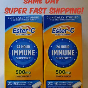 Ester-C Vitamin C 500mg 180 Count Immune Support Booster Emergen-C DEAL