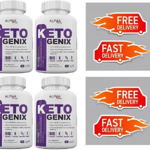 Alpha Femme Keto Genix 240 Capsules Weight Loss Formula (4 Month Supply)