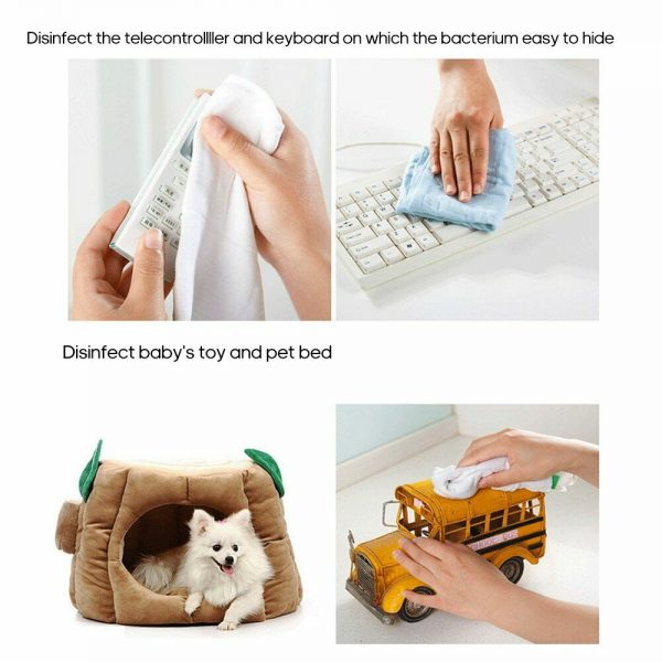 100Pcs 84 Instant Disinfection Tablets Clothes Bleaching Floor Pet Disinfect -30