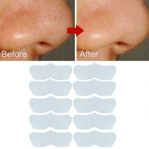 10pcs/Set Blackhead Acne Remover Nose Strips Peel Off T Sale Zone Stickers F0N8