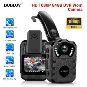 1080p HDR 身体穿过摄像头夜视红外线防水用于身体安装摄像头 64gb- 显示原刊登标题