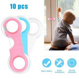 10x 婴儿儿童孩子橱柜柜安全锁打样适用于房门抽屉冰箱- 显示原刊登标题