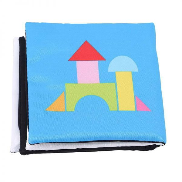 0-36 Months Baby Toys Soft Cloth Book Infant Educational Stroller Rattle Toy Hot