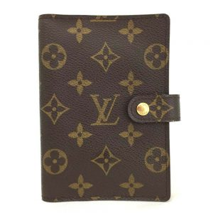 100% Authentic Louis Vuitton Monogram Agenda PM Notebook Cover /695