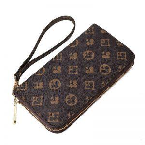 Wallet new Korean print women's long wallet wallet handbag mobile phone bag wome